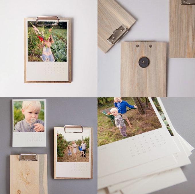 calendrier photos en bois id e cadeau original no l photographe paris julie roz. Black Bedroom Furniture Sets. Home Design Ideas