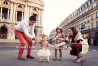 Photo de l'article Séance photos famille Paris, photographe enfants Paris : Romy et Lou