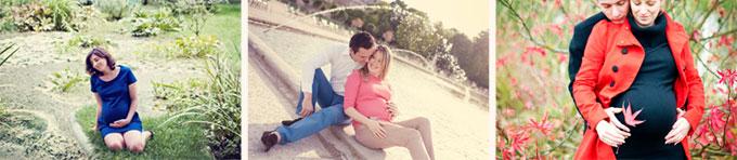 Photos de femmes enceintes à Paris